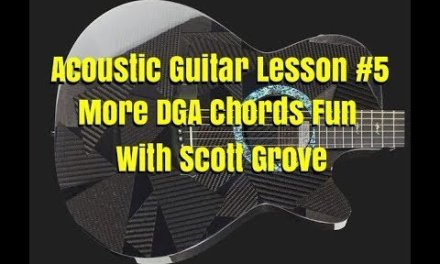 Acoustic Guitar Lesson  5 Basic Strumming Patterns With Scott Grove