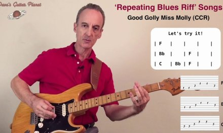 Repeating Blues-Riff Songs: Easy Guitar Lesson – Dave's Guitar Planet
