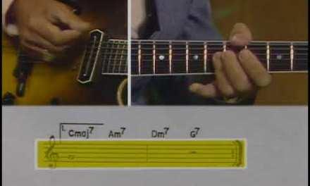 Barney Kessel Jazz Guitar Improvisation: Lesson 6 – Turnarounds – Practice Track