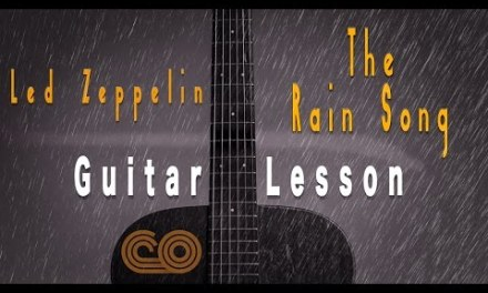 Led Zeppelin The Rain Song Full Song guitar lesson +Tab (HD)