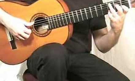 Flamenco Guitar – Bulerias intro, Sample Guitar Lesson in Solea