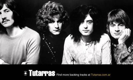 Led Zeppelin – ramble on 2 [Guitar Backing tracks]