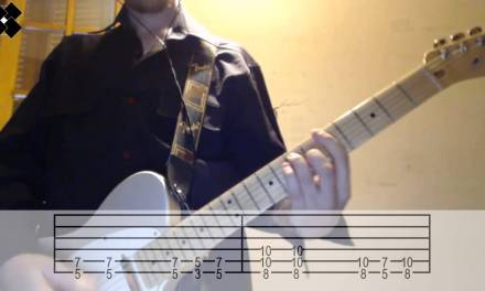 The White Stripes – The hardest button to button video guitar tab