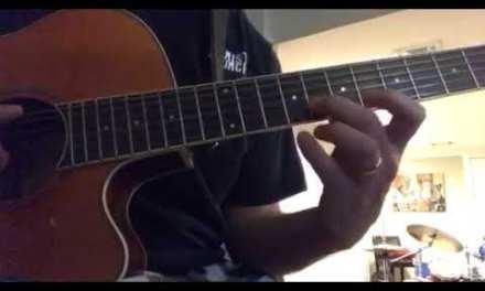 Guitar lesson G blues lick 2min