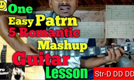 Anyone can play this songs 1easy pattern for Guitar Lesson..By-Mera Guitar Channel(Hindi/Bengali)
