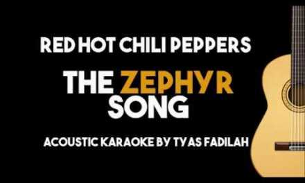 The Zephyr Song – RHCP (Acoustic Guitar Backing Track with Lyrics)