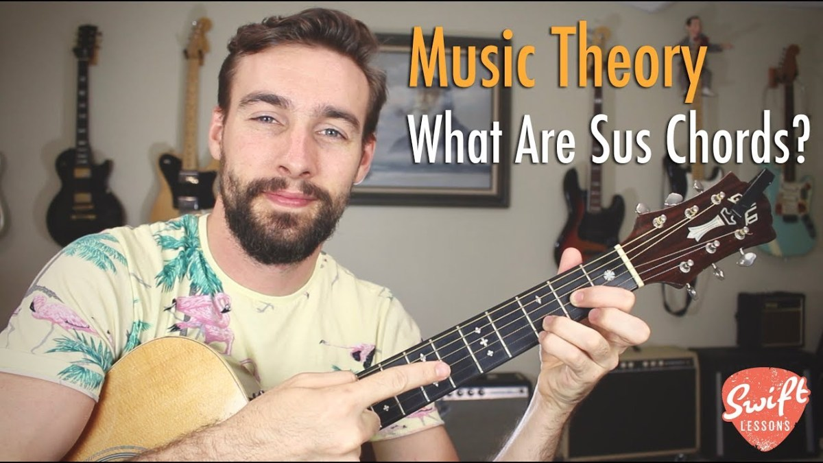 What Are Sus Or Suspended Chords Music Theory Guitar Lesson The