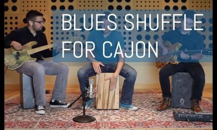 Cajon – Blues Shuffle