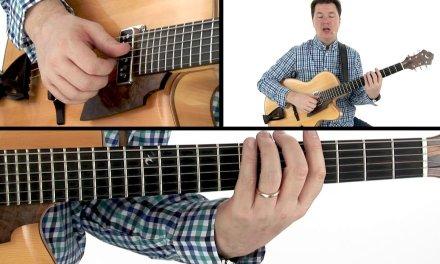 Fingerstyle Jazz Guitar Lesson – Speed Rolls – Sean McGowan