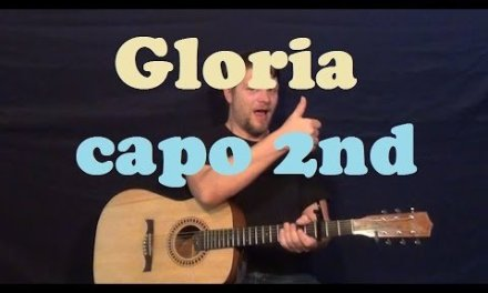 Gloria (Laura Branigan) Easy Strum Guitar Lesson Chords How to Play Gloria Tutorial