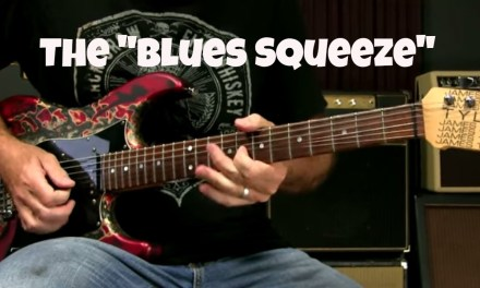 """Blues Guitar Lesson – """"The Blues Squeeze"""" for Improved Blues Soloing"""