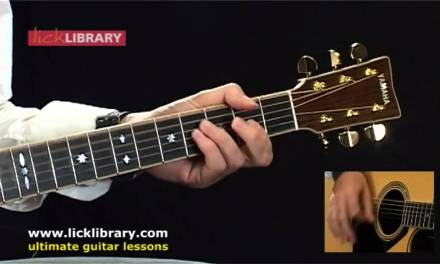 Jack Johnson – Upside Down – Acoustic Guitar Lesson With Michael Casswell Licklibrary