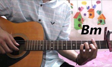 Humnava Mere – Jubin Nautiyal – Guitar cover lesson chords tutorial easy version