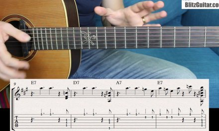 How to Play a Blues Solo with Only one Riff without Sounding Boring