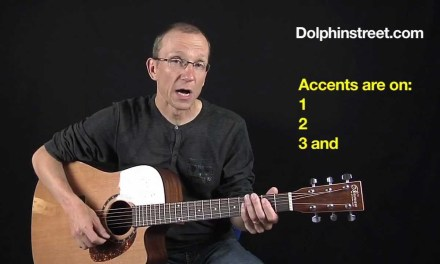 "Acoustic Blues Guitar Strumming Lesson ""Got That Straight"""