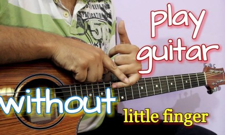 Play Guitar Chords without Using Little Finger – Hindi Lesson