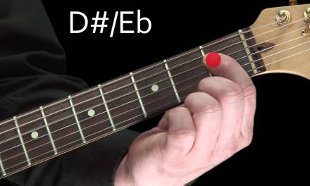 Learn Guitar Lesson – The notes on the neck