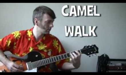 how to play Camel Walk by Southern Culture on the Skids guitar lesson chords & tab