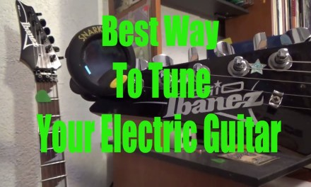 Best Way To Tune Your Electric Guitar Beginner Lesson