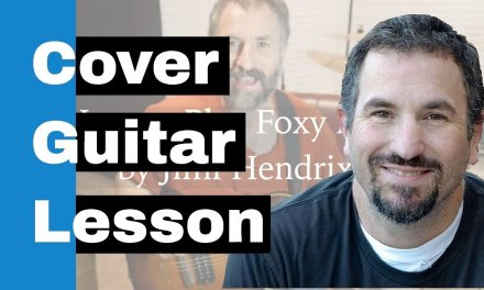 How to Play Foxy Lady on Guitar – Jimi Hendrix Guitar Lesson – 4K