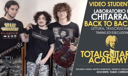 TGA Video Studente: Laboratorio BACK TO BACH