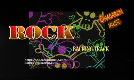 Rock Guitar Backing Track in D
