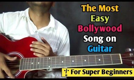 Mera Mann – Most Easy Bollywood song Guitar Lesson – Ayushman khurana – Beginners Guitar Tutorial