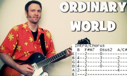 Duran Duran Guitar Tabs & Chords for Ordinary World