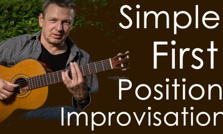Learn How To Improvise: A Simple 1st Position Improvisation -Stefan Schyga