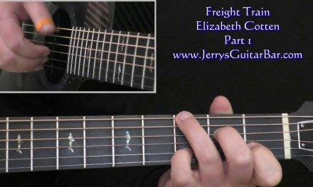 Elizabeth Cotten Freight Train Intro Guitar Lesson