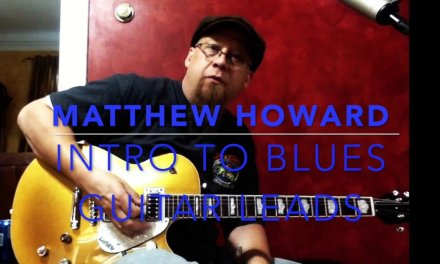 Basic Blues Lead Guitar Lesson in the key of A or Am