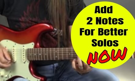 Add These 2 Notes for Better Blues Solos – Steve Stine Guitar Lesson