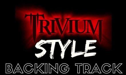 Trivium Style Backing Track