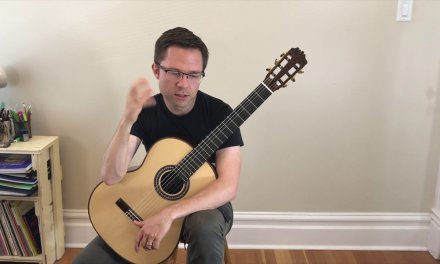 Lesson: Right Hand Fingering Part 3 of 4 for Classical Guitar