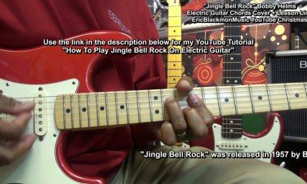 JINGLE BELL ROCK Electric Guitar Chord Cover & LINK TO LESSON FunkGuitarGuru Funk