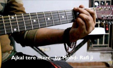 Aaj Kal Tere Mere Pyar | Guitar Chords | Rafi ji | Guitar Lesson | Rotten Guitars TUTORIALS