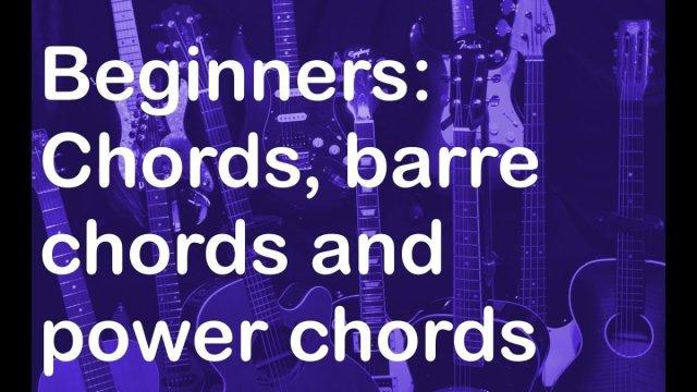 Beginner Guitar Lesson Chords The Glog