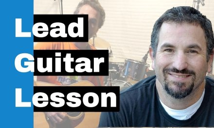 Lead Guitar Lesson – Improvising with Aeolian Scale