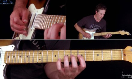 Iron Maiden – Aces High Guitar Lesson (Solos)