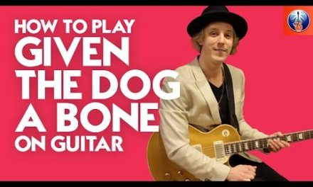 How to Play Givin the Dog a Bone on Guitar – AC DC Back in Black Lesson