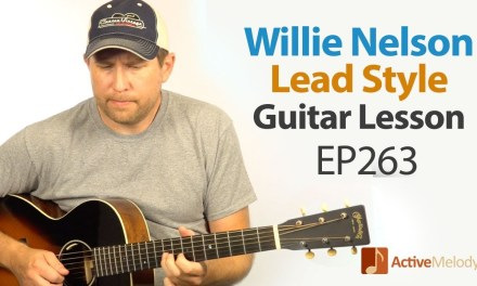 Willie Nelson style guitar lesson – Incorporate Willie Nelson guitar licks into your playing – EP263