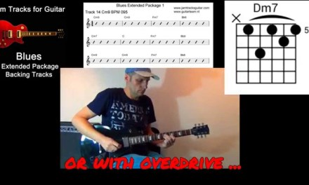 Backing Tracks for guitar – Trailer Blues Extended Package