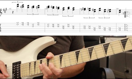How to play 'Captive Honour' by Megadeth Guitar Solo Lesson w/tabs pt2