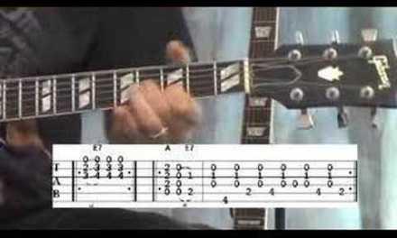 blues guitar lesson – 2/2
