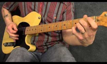 Country guitar train beat rhythm in the style of Folsom Prison Blues part 2 – CR002