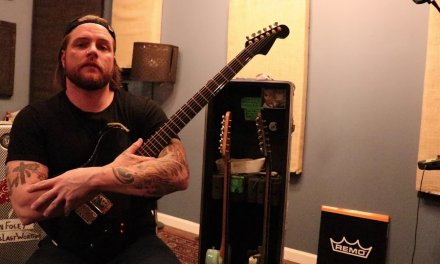 FAMOUS LAST WORDS Guitarist Evan Foley on His Custom Mahogany Baritone Telecaster – Geared Up #004