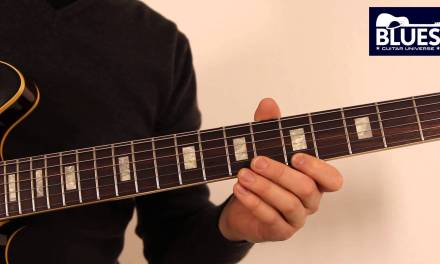 Blues Guitar Lesson 2 – Minor Pentatonic Soloing with Chord Tones