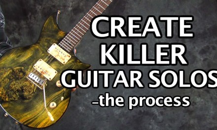 Create Killer Guitar Solos – the process with licks and tabs