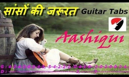 Sanson ki zaroorat hai Guitar Lesson | Easy Guitar Lesson | Aashiqui | Step By Step
