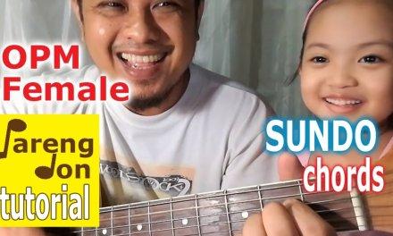 Sundo chords (Imago) with Bm alternate chord – Cailee singing guitar tutorials
